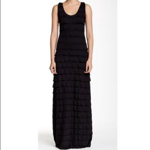 Max Studio Ruffle Maxi Dress